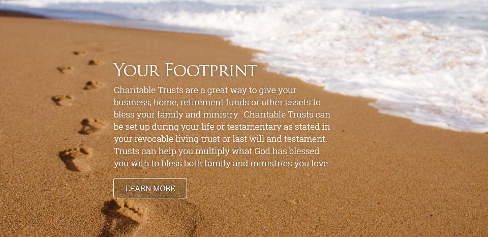 Your Footprint (beach and ocean)