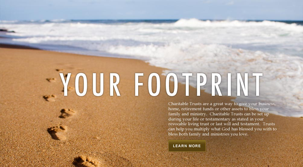 Your Footprint (beach and ocean)